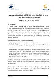 SEGURO DE ACIDENTES PESSOAIS DOS PRATICANTES ...