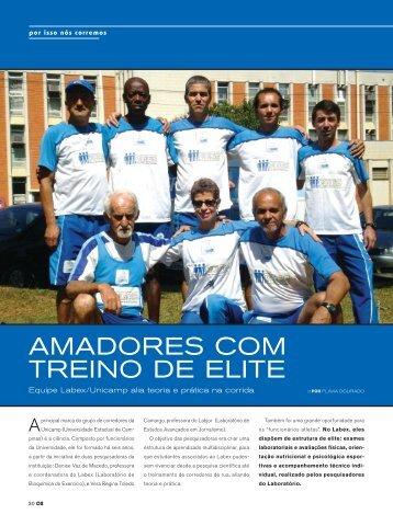 AMADORES cOM tREinO DE ElitE - GGBS - Unicamp