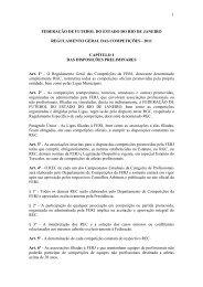 regulamento geral das competições 2011 - Federação de Futebol ...