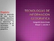 Tecnologías de información geográfica - MCA-Reading