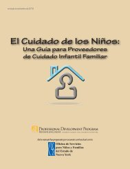 Índice - New York State Office of Children and Family Services