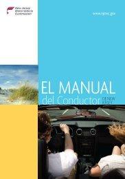 El Manual del Conductor de - State of New Jersey