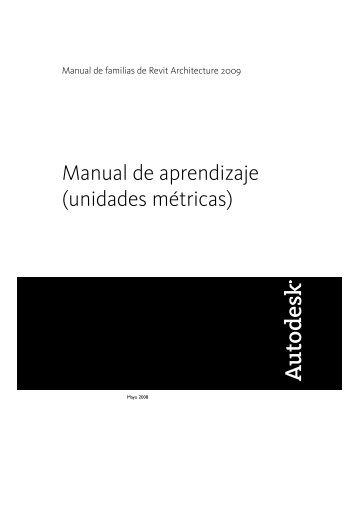 Manual de aprendizaje (unidades métricas) - Autodesk