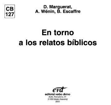 En torno a los relatos bíblicos - Comunidad de San Juan