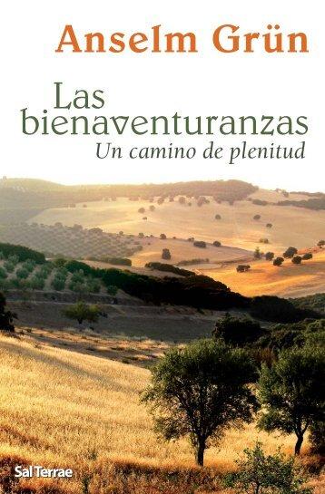 Las bienaventuranzas Un camino de plenitud - Editorial Sal Terrae