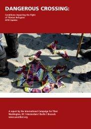 DANGEROUS CROSSING: - International Campaign for Tibet