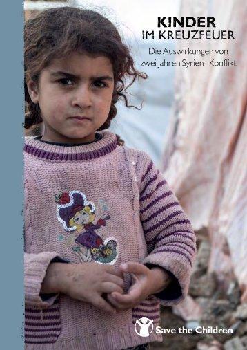 Kinder im Kreuzfeuer - Save the Children