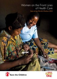 State of the World's Mothers 2010 - Save the Children