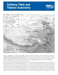 Defining Tibet and Tibetan Autonomy - International Campaign for ...