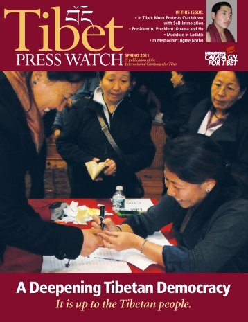 Download the complete PDF - International Campaign for Tibet