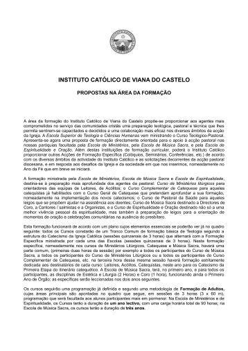 novas - Diocese de Viana