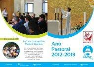 Ano Pastoral 2012-2013 - Serviço Nacional de Acólitos