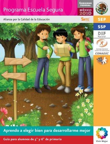 Programa Escuela Segura - Conade