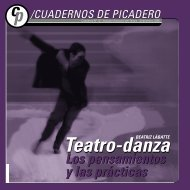 Teatro-danza - Instituto Nacional del Teatro