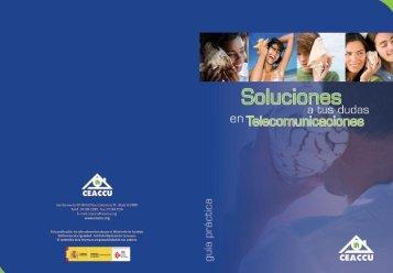 Soluciones a tus dudas en telecomunicaciones - Ceaccu