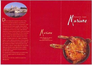 Restaurante Asador Mariano - Zamora