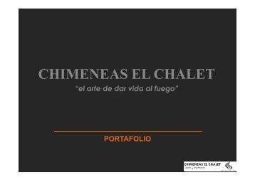 Catálogo en Línea - Chimeneas El Chalet