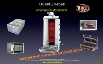 precio neto - Quality Kebab