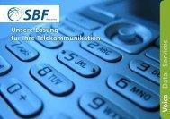 Download Strategische und technologische TK ... - SBF ITN Solutions
