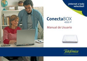 Manual Zyxel ConectaBOX 4000P v1.0 - Movistar