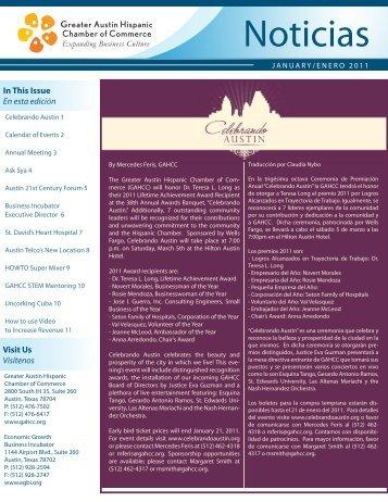Noticias - Greater Austin Hispanic Chamber of Commerce