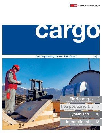 Ausgabe 2 / 11 - SBB Cargo