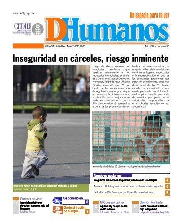 DHumanos Año VIII número 50 - Comisión Estatal de Derechos ...
