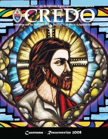 Cuaresma - Pascua 2008 - Revista CREDO