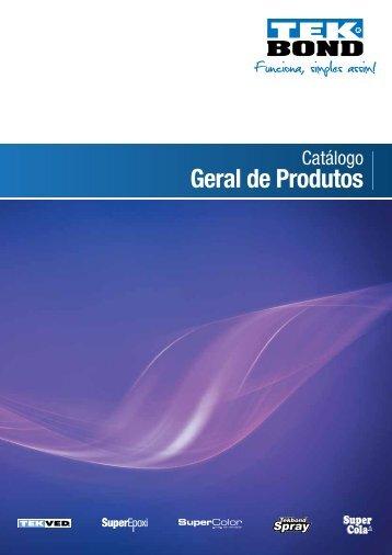 Geral de Produtos - Tekbond