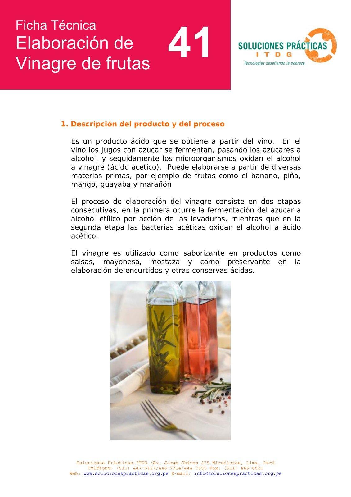 Elaboración de vinagre.pdf - Soluciones Prácticas