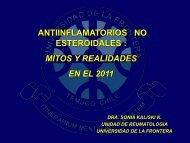 Antiinflamatorios No Esteroidales: mitos y realidades en el 2011