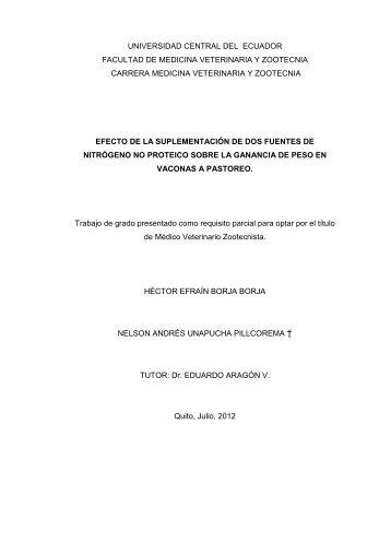 capítulo i - Universidad Central del Ecuador