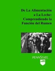 De La Alimentación a La Leche - Penn State Extension