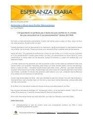 Acércate a Dios para Evitar Discusiones - Saddleback Resources