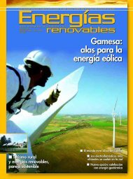 rreennoovvaabblleess renovables Gamesa: alas para ... - Acción Solar