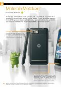 Motorola MotoluxeTM - Acerca de Orange - Page 6