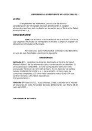 REFERENCIA: EXPEDIENTE Nº 199/03 - hcd pilar