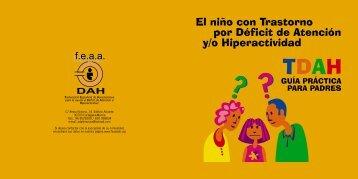 El niño con Trastorno por Déficit de Atención y/o Hiperactividad