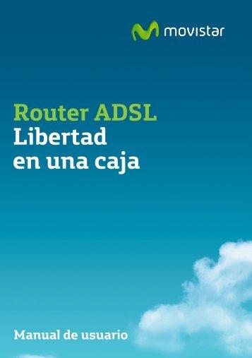Router ADSL Libertad en una caja - Movistar