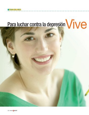 Para luchar contra la depresiónVive en positivo