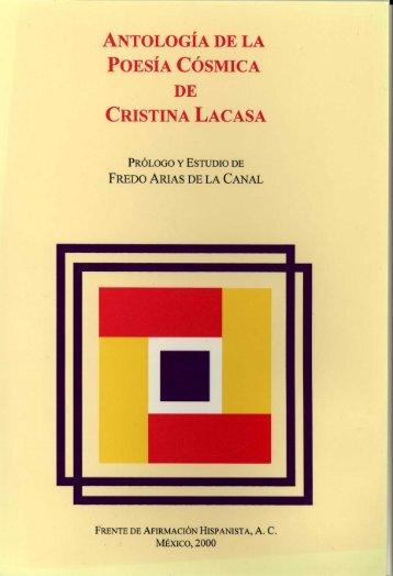 antología de la poesía cósmica de cristina lacasa - Frente de ...