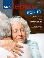Themenheft PFLEGE - SBK