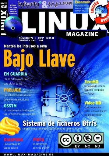 Sistema de ficheros Btrfs - Linux Magazine