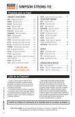 Catalog: Conectores Para Proyectos del Hogar - Simpson Strong-Tie - Page 2