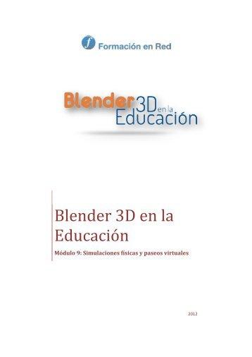 Blender 3D en la Educación - Ministerio de Educación