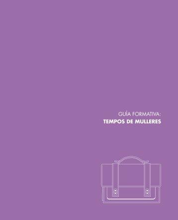 guía formativa: tempos de mulleres - Universidad de Navarra