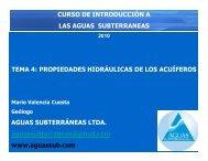 hidrogeología básica - Aguas Subterráneas Ltda.