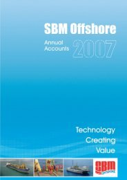 2007 Annual Report - SBM Offshore