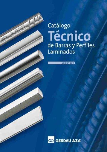 Catálogo Técnico Barras y Perfiles de Acero Laminado - Gerdau AZA