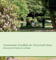 Kommunale Friedhöfe der Kreisstadt Unna - Stadtbetriebe Unna